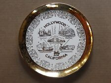 "State Of California 10"" Porcelain Collector'S Plate With Wall Mount"