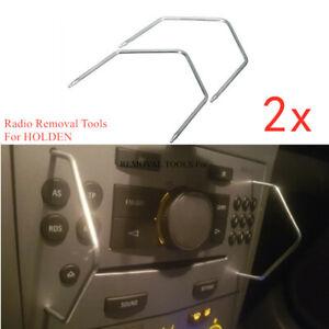 2PC Car Radio Removal Tools for HOLDEN Astra Barina Captiva Combo Tigra Vectra