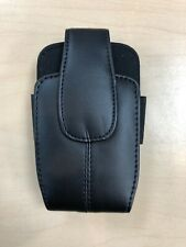 Leather Pouch Case for Most Flip Phones with Rotating Belt Clip