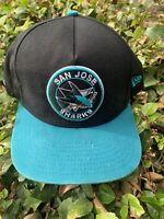 San Jose Sharks New Era Snapback Hat Med/Lrg