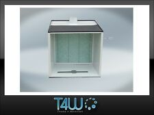 T4W Mini paint spray booth with fumes extraction automotive auto body stand
