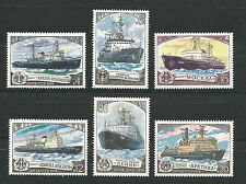 USSR 1978...ICEBREKERS...MNH **...Ледоколы..Сол. 4925-4930....(6 stamps)