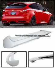 ST Style Rear Roof Wing Lip Spoiler Body Kit For 12-14 Ford Focus 4Dr Hatchback