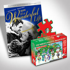 It's A Wonderful Life Dvd And Puzzle Bundle [New DVD]