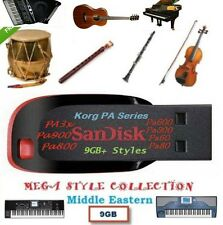 Korg Pa3x, Pa2x, Pa800 Armenian, Arabic, Turkish, Azeri Styles, Sets 13GB+ USB