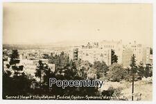 Postcard RPPC 1910s Washington WA Spokane Sacred Heart Hospital View Real Photo