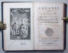 Jean-Pierre Florian: Théatre, tome premier, 1794
