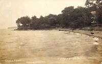 Putneyville New York 1912 RPPC Real Photo Postcard Grace Point