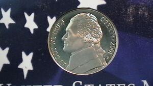 BEAUTIFUL 2001-S UNCIRCULATED BRILLIANT  PROOF CAMEO JEFFERSON NICKEL!  275B7a