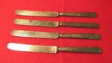 Wm Rogers Fruit Knives- Plain Handles- 4