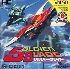 Soldier Blade PC-Engine Hu card operation confirmed Japan F/S USED