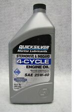OEM Mercury Quicksilver MerCruiser Marine Engine SAE 25W-40 Oil 4 Stroke / Cycle