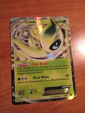 NM Pokemon CELEBI EX Card BOUNDARIES CROSSED Set 9/149 Black and White BW Rare
