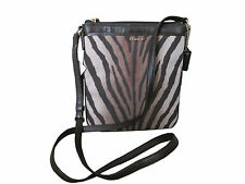 NWT Coach Madison Zebra Swing Pack Cross Body Purse 50506