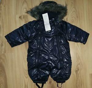 Blue Seven Baby Winter-Overall Gr.62/unisex Schneeoverall Schneeanzug NEU