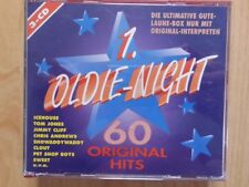1.OLDIE-NIGHT 3CD BOX: 60 ORIGINAL HITS/CLOUT ICEHOUSE KINCADE ROY C. ARCHIES