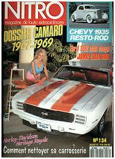 NITRO n°134 CAMARO'67-69/HARLEY DAV SOFTAIL-HERITAGE CUSTOM/+ poster