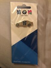 BMW Olympic Pin 2012 Silver Car London Official Product