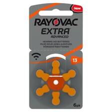 Rayovac Hearing Aid Batteries Size 13 *EXPIRES 2024*. Orange Tab