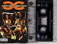 Crucial Conflict Hay 1996 Cassette Tape Single Rap Hiphop