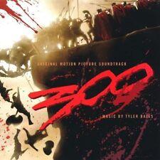 300 (Original Motion Picture Soundtrack) - Tyler Bates - 2007 CD - Warner Bros.