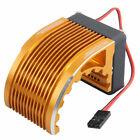 RC CNC Machined Gold Alum Heat Sink For Hobbywing 4274/4268 Phoenix 1515 Motor