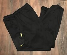 Nike Therma-Fit LIVESTRONG Men's Black/Yellow Athletic Sweatpants • Size 2XL/XXL