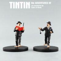 Figurine de collection TINTIN  DUPONT ET DUPOND RÉSINE HERGÉ NEUVE