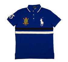 e6f87b4e Men Polo Ralph Lauren BIG PONY Polo Shirt FINE QUALITY GOODS - CUSTOM FIT S-