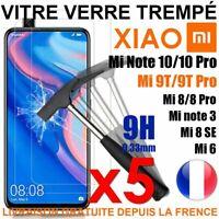 Vitre Protection Verre Trempé Pour Xiaomi Mi A3/9T/9Lite/Pro/9/Se/8/Max/Note 10