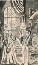 gravure originale Hermine David princesse Clèves 1943 edition anglaise Nemours