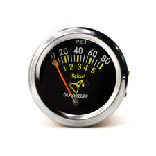 "Universal 2"" 52mm Mechanical Car Oil Pressure Gauge 0-80 PSI Auto Car Meter New"