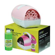 Cheetah G002gca Pink Party Time Battery Powered Bubble Machine