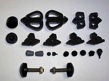 1967-68 FORD Mustang Pair RAD to HOOD & 21 pcs Rubber Bumper Kit   Best Made
