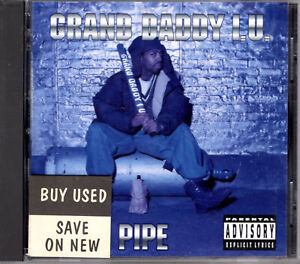 Grand Daddy I.U. Lead Pipe 1994 OG CD 1st Press Album Rap Hiphop R&B