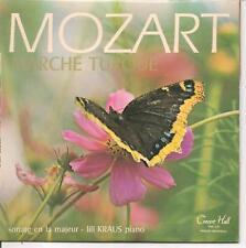 """EP 33 1/3--CLASSIQUE--MOZART--SONATE EN LA MAJEUR """"MARCHE TURQUE""""--LILI KRAUS"""