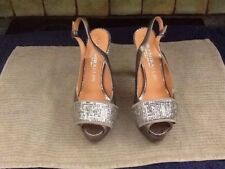 1a526ee1fca6b7 LADIES PEDRO MIRALLES In Silver Size 38 (5) Leather