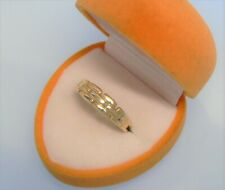 ✨ 585 GOLD Ring ✨ Kettenring ✨ 14 Karat Gelbgold ✨ Bandring ✨ 2,29 Gramm ✨Gr.55✨
