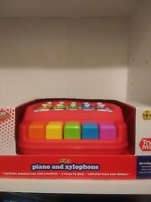 """Play Right  Piano and Xylophone 2 in 1 18+ Months Learning Toddler 8"""" Toy"""