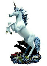Large Unicorn K050 - Tudor Mint Land of the Dragons - Fantasy Myth Horse Statue