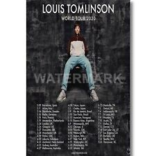 Custom Louis Tomlinson World Tour 2020 Silk Poster Wall Decor Art Print