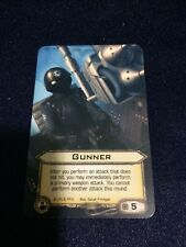 Star Wars X-Wing Promo Gunner Card