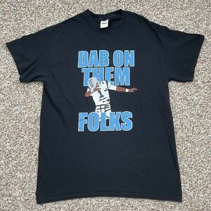 "Cam Newton Carolina Panthers ""Dab On Them Folks"" NFL Football t-shirt Size M"