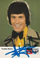 FREEDY BRECK SIGNED VINTAGE CARD/PHOTO
