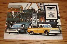 Original 1966 Chevrolet Truck Full Line Sales Brochure 66 Chevy Pickup Van Cab