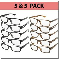 Reading Glasses Men Women Readers Unisex Styles Multi Pack 10 Pairs New Style