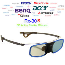 144Hz 3D DLP-Link Obturador Activo Recargable Gafas para BenQ Optoma Acer Q1Q1
