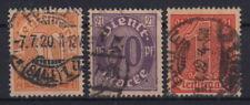 Deutsches Reich: Mer d20-22. i valori massimi timbrato prestigio-MW 9,- (g228#1)