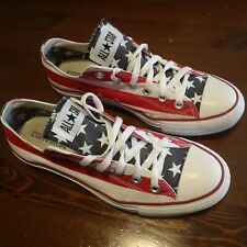 CONVERSE ALL STAR n. 41  UK 7.5 Flag USA Ottime condizioni UNISEX - Very Good