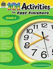 101 Activities for Fast Finishers, Grade 3 (English) Paperback Book